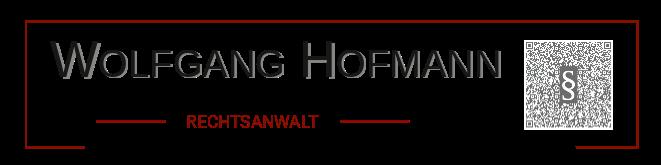 Rechtsanwalt Wolfgang Hofmann